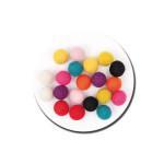 Boule en feutre 1,5 cm - Multicolore