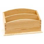 Range courrier en bois - 26 cm