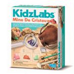 Coffret scientifique Kidzlabs Kit de la mine de cristaux