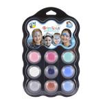 Palette de maquillage 9 couleurs - Reine des neiges