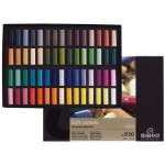 Boîte de demi-pastels secs 60 couleurs assorties