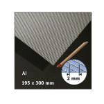 Plaque de métal déployé motif 2 mm
