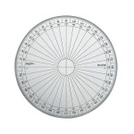 Rapporteur 180° 15 cm