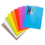 Cahier Coverbook protège-cahier intégré 24 x 32 cm Seyès 48 p