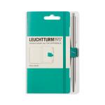 Attache stylo pour carnet Pen Loop Émeraude