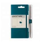 Attache stylo pour carnet Pen Loop Bleu Pacific green