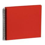 Album spiralé Economy Medium 40 pages noires couverture Efalin 24,5 x 23 cm - Jaune