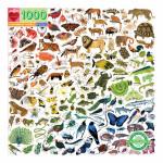 Puzzle Forêt Monde arc-en-ciel 1000 pièces