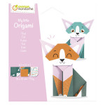 Set My Little Origami Chat 20 feuilles